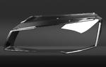 Стекло фары Audi A8 D4 (2013 - 2017) фото 3