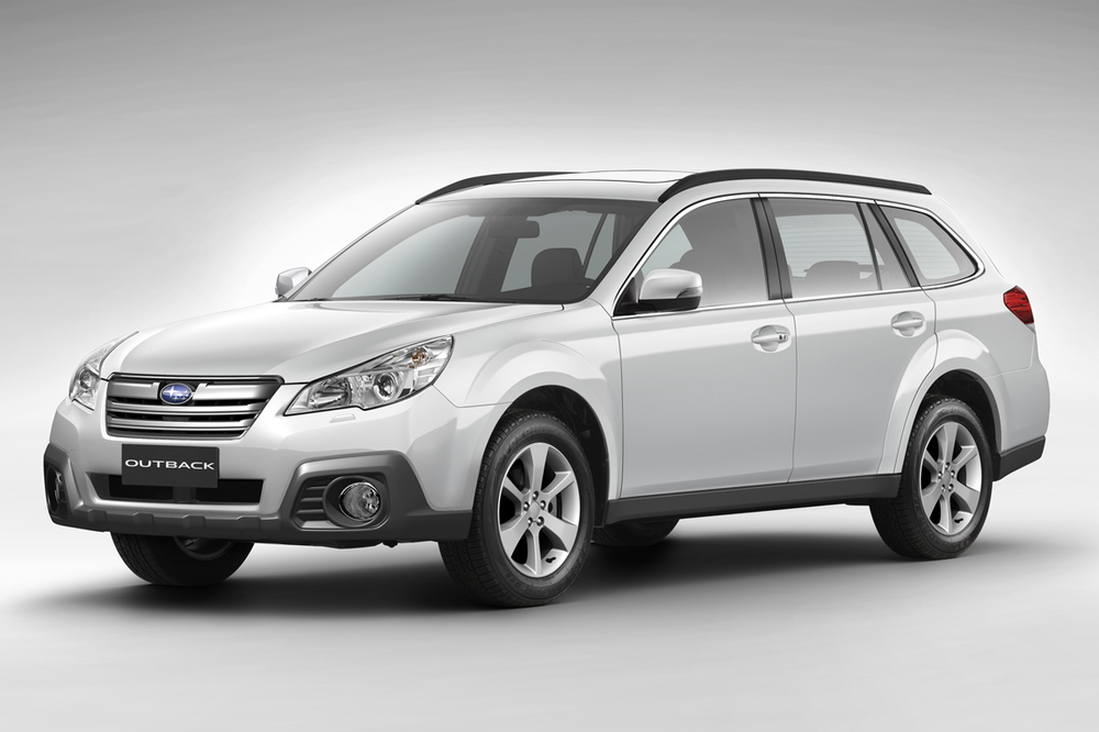 Стекло фары Subaru Outback(2009-2014)