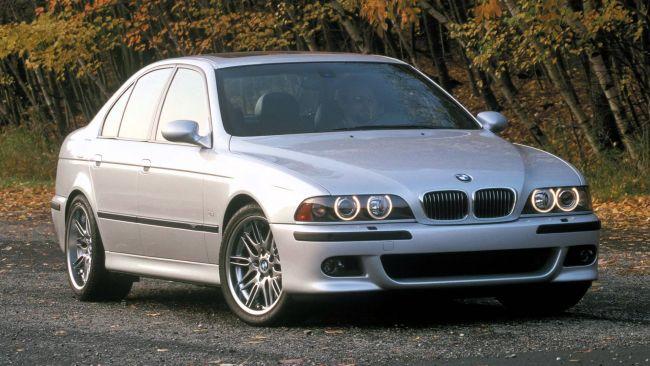 Стекло фары BMW E39(2000-2003)