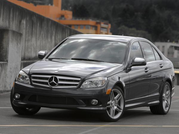 Стекло фары Mercedes-Benz W204 (2007 - 2011)