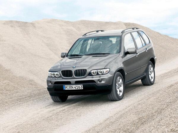 Стекло фары BMW X5 E53 (2004 - 2006)