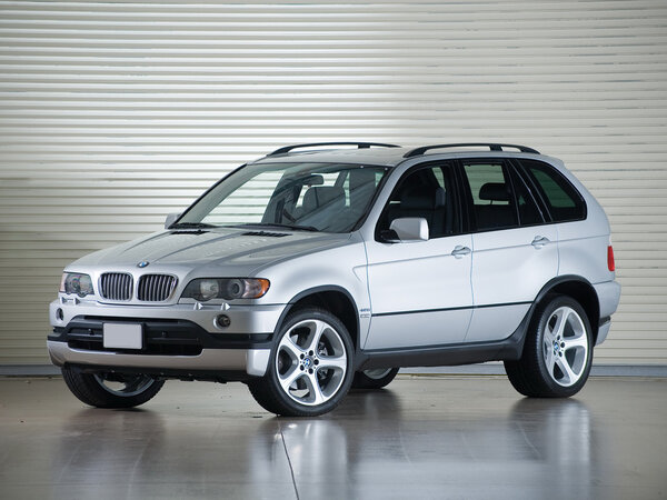 Стекло фары BMW X5 E53 (2000 - 2003)