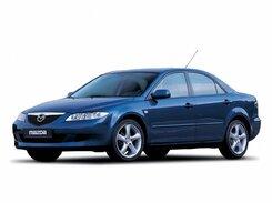 Стекло фары Mazda GG(2002-2007)