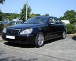 Стекло фары Mercedes-Benz W220 (2003 - 2005) фото 4