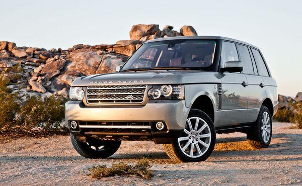 Стекло фары Land Rover Vogue (2010 - 2014)