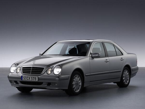 Стекло фары Mercedes-Benz W210 (1998 - 2001)